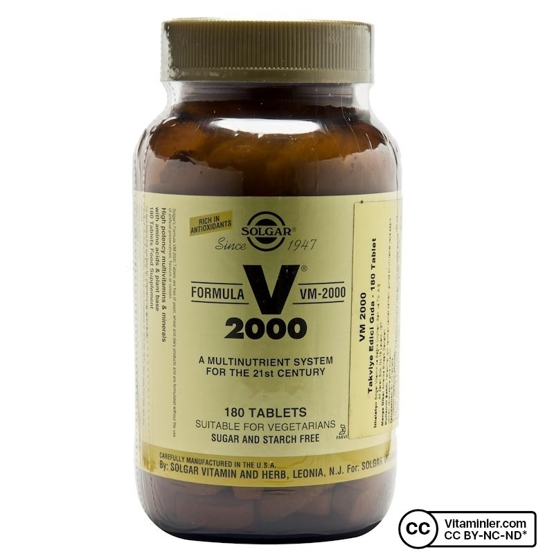 Solgar VM 2000 180 Tablet