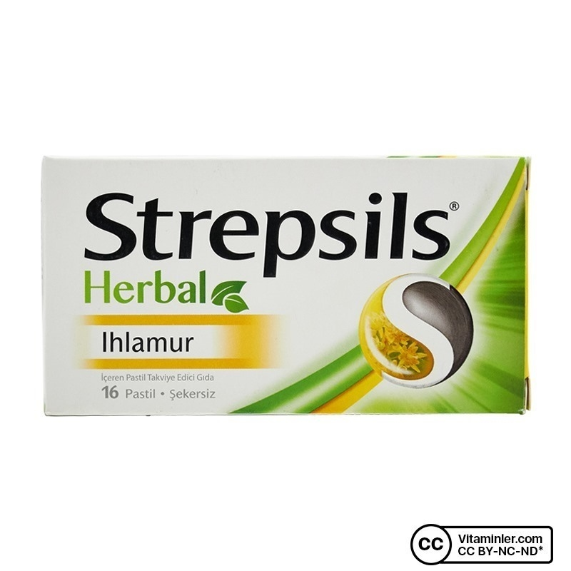 Strepsils Herbal Ihlamur 16 Pastil