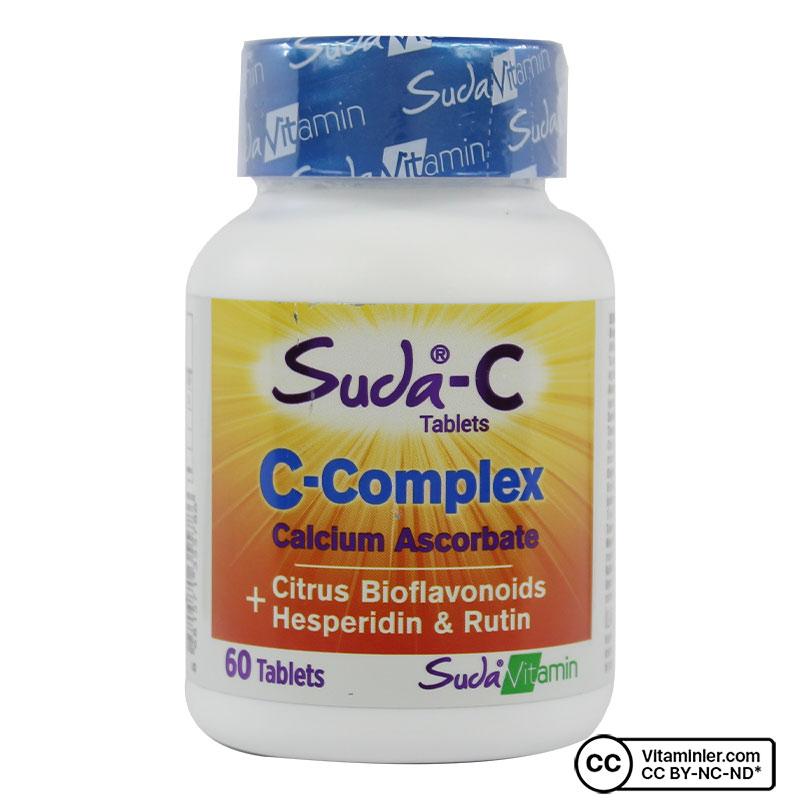Suda C Vitamin C Complex 60 Tablet