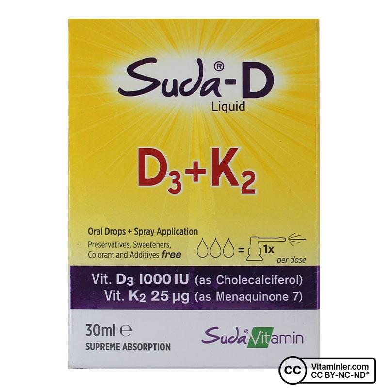 Suda D D3 + K2 30 mL Damla