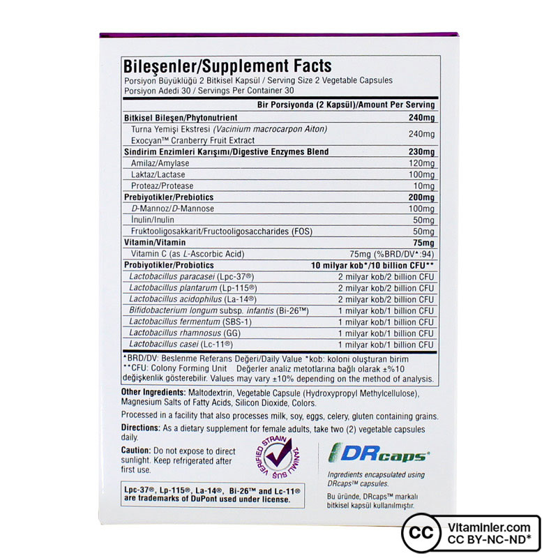 Suda Probiotic Berry Biotic 60 Kapsül