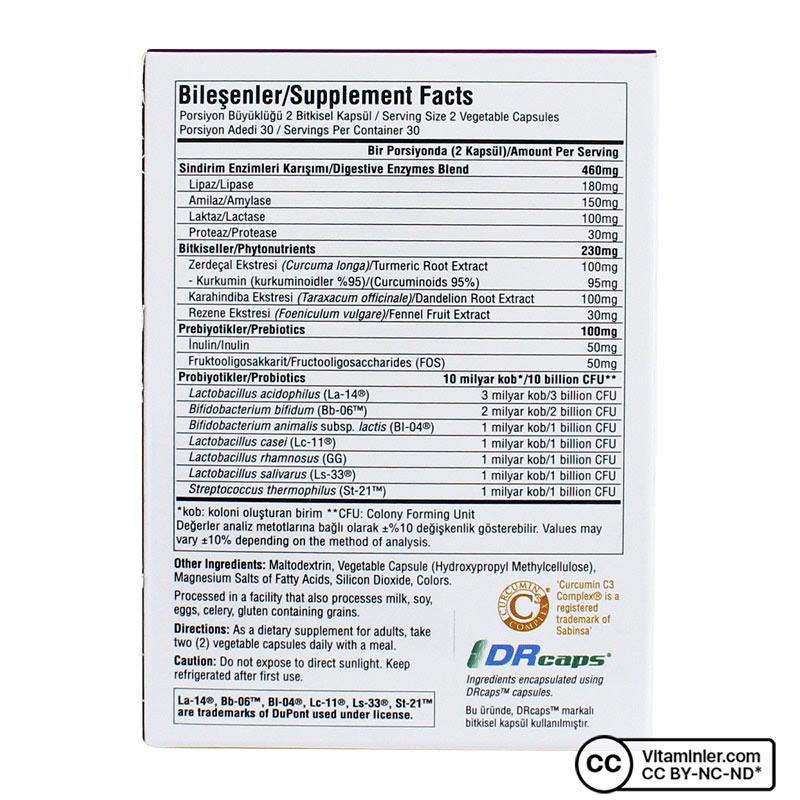 Suda Probiotic Digesto Biotic 60 Kapsül
