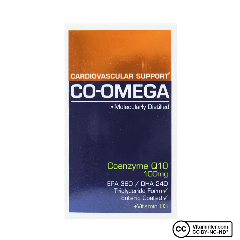 Suda Vitamin Co-Omega 30 Kapsül