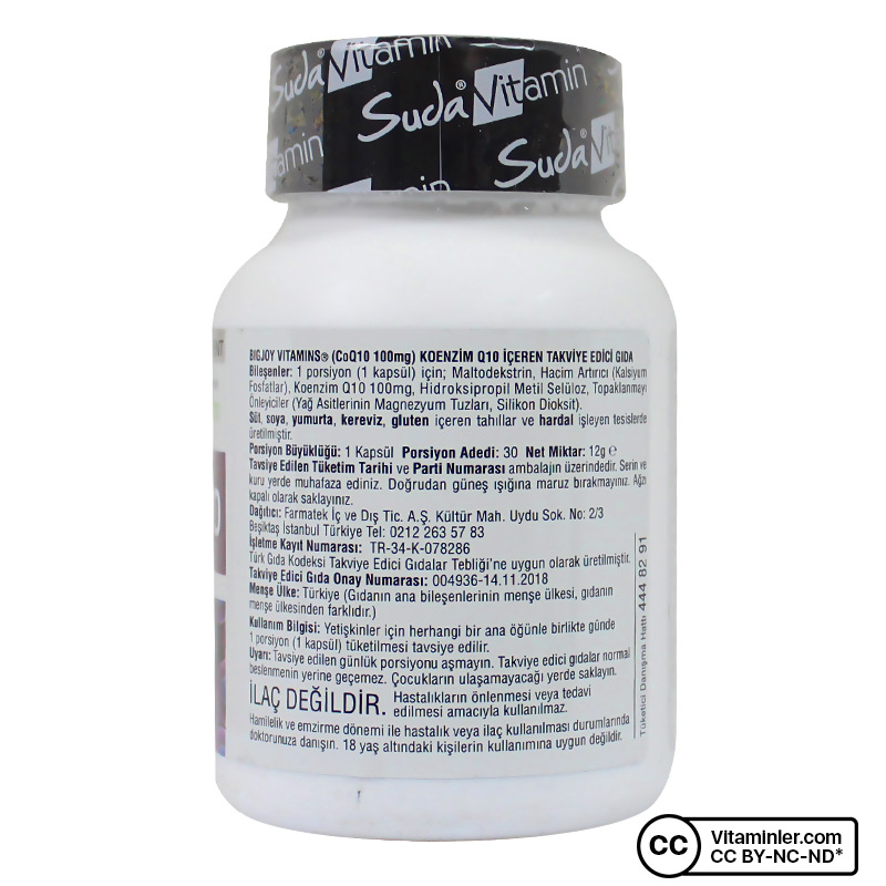 Suda Vitamin Coenzyme Q10 30 Kapsul