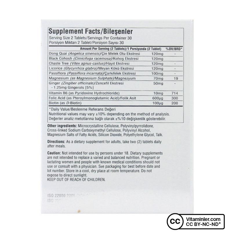 Suda Vitamin Menowell 60 Tablet