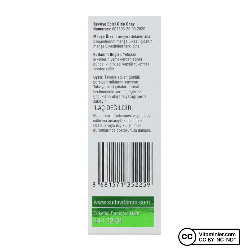 Suda Vitamin Proxine 60 Kapsül