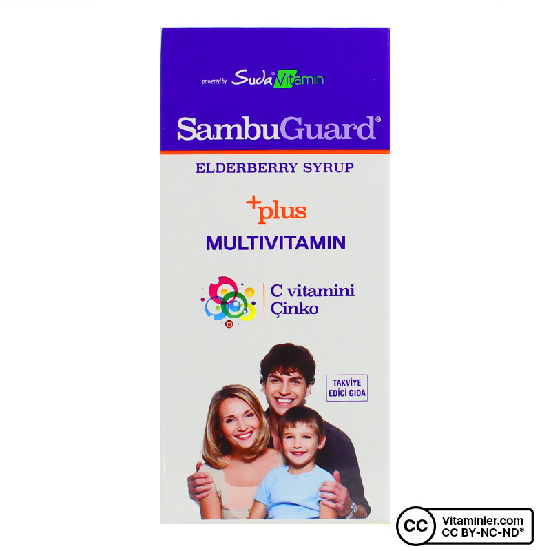 Suda Vitamin Sambuguard Şurup 120 mL