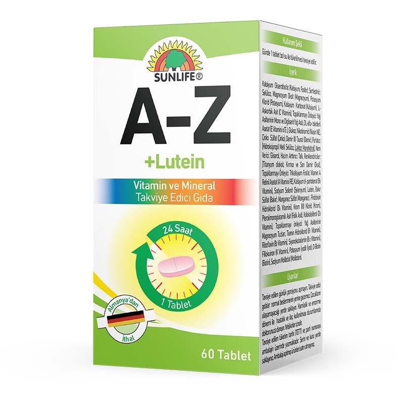 Sunlife A-Z 60 Tablet