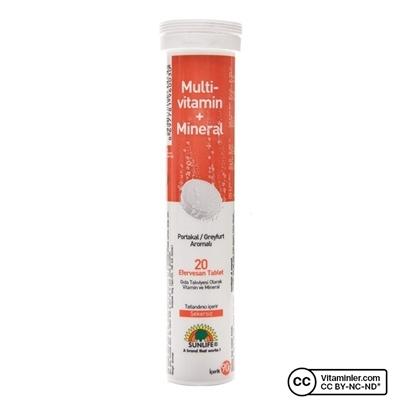 Sunlife Multivitamin Mineral Efervesan 20 Tablet