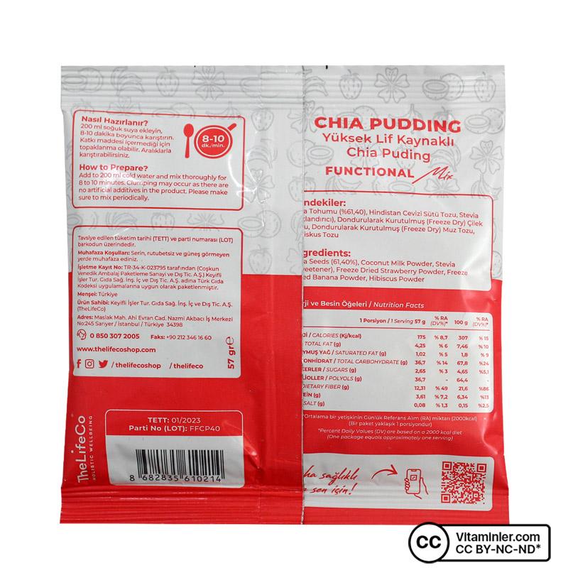 The Lifeco Chia Pudding 57 Gr