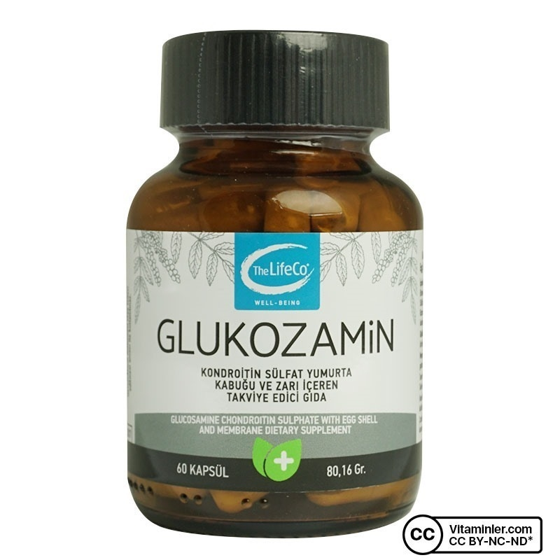 The Lifeco Glucosamine Extract 60 Kapsül