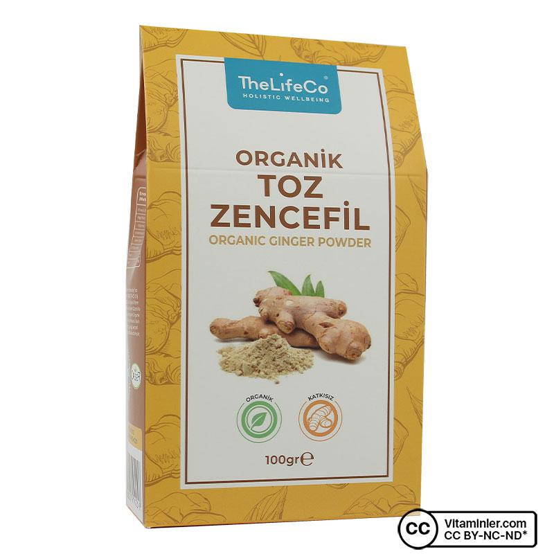 The Lifeco Organik Zencefil Tozu 100 Gr