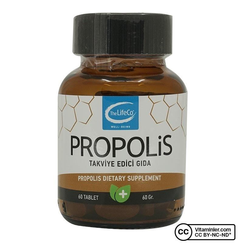 The LifeCo Propolis 60 Tablet