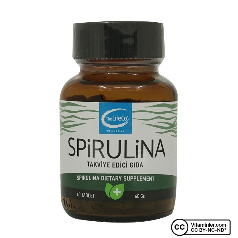 The Lifeco Spirulina 60 Tablet