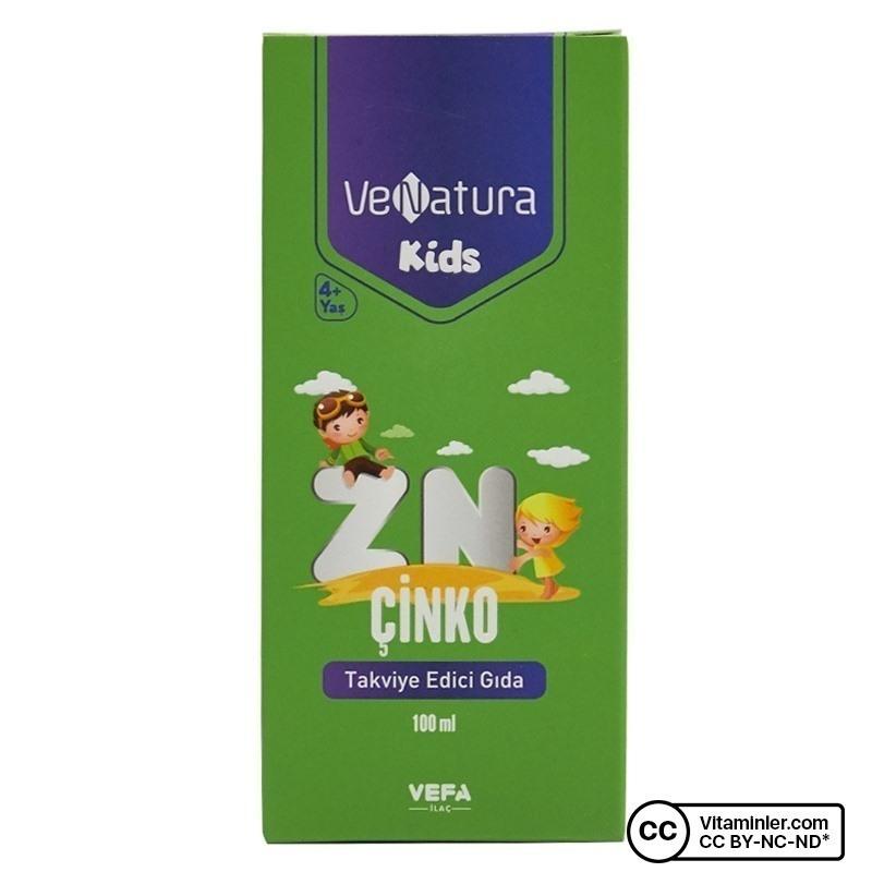 Venatura Kids Çinko Şurup 100 mL