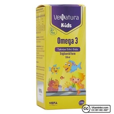 Venatura Kids Omega 3 Şurup 150 mL