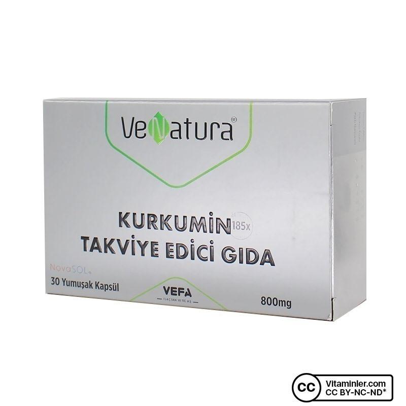 Venatura Kurkumin Novasol 800 mg 30 Kapsül