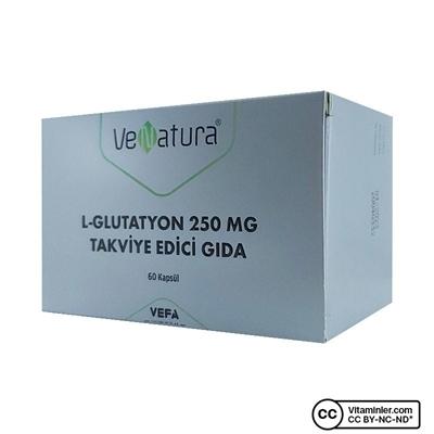 Venatura VeNatura L-Glutatyon 250 Mg 60 Tablet