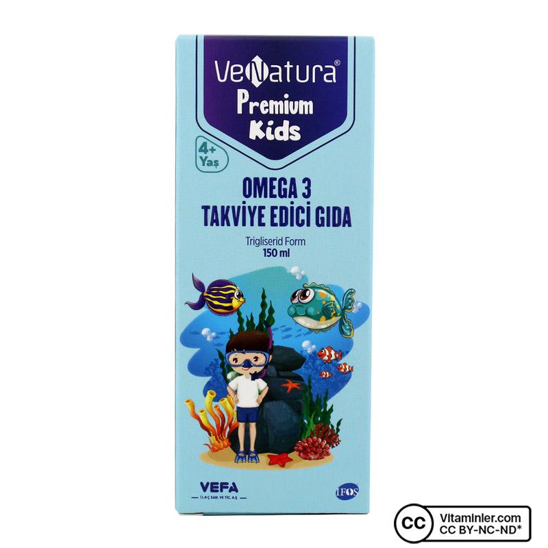 Venatura Premium Kids Omega 3 Şurup 150 mL