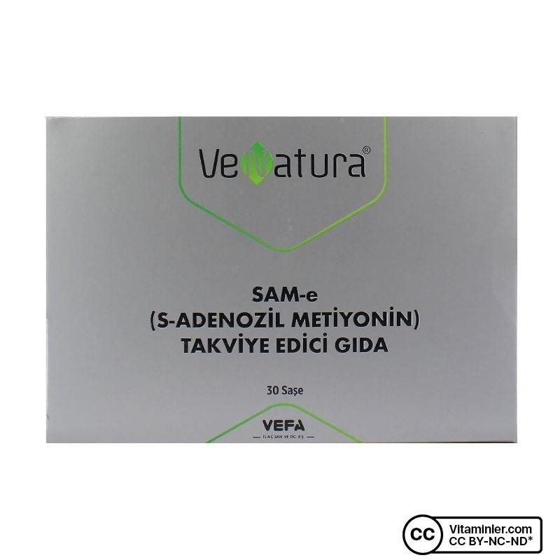 Venatura SAM-e (S-Adenozil Metiyonin) 30 Saşe