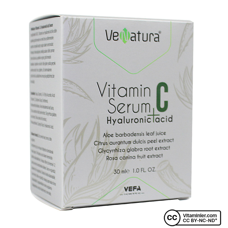 Venatura Vitamin C Hyaluronic Asit Serum 30 mL