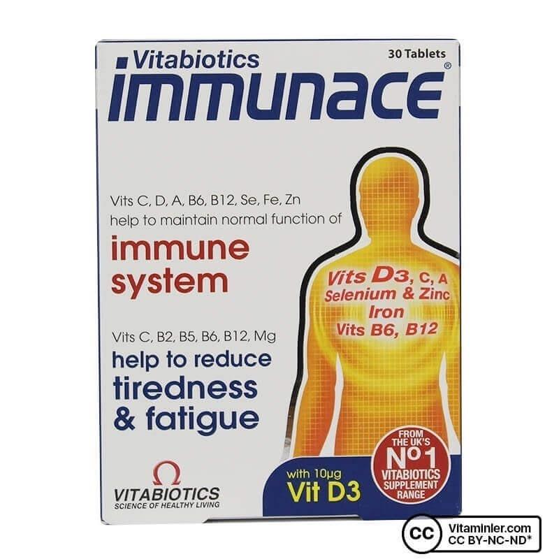 Vitabiotics Immunace 30 Tablet