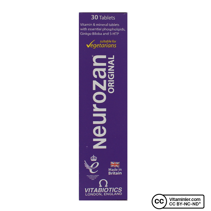 Vitabiotics Neurozan 30 Tablet