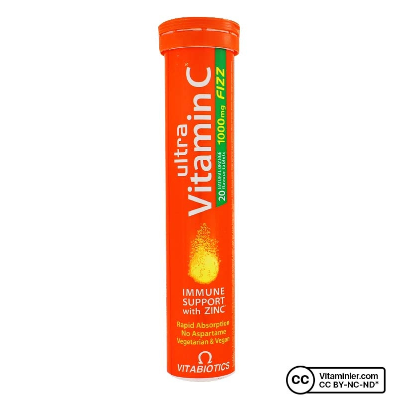 Vitabiotics Ultra Vitamin C 20 Efervesan Tablet