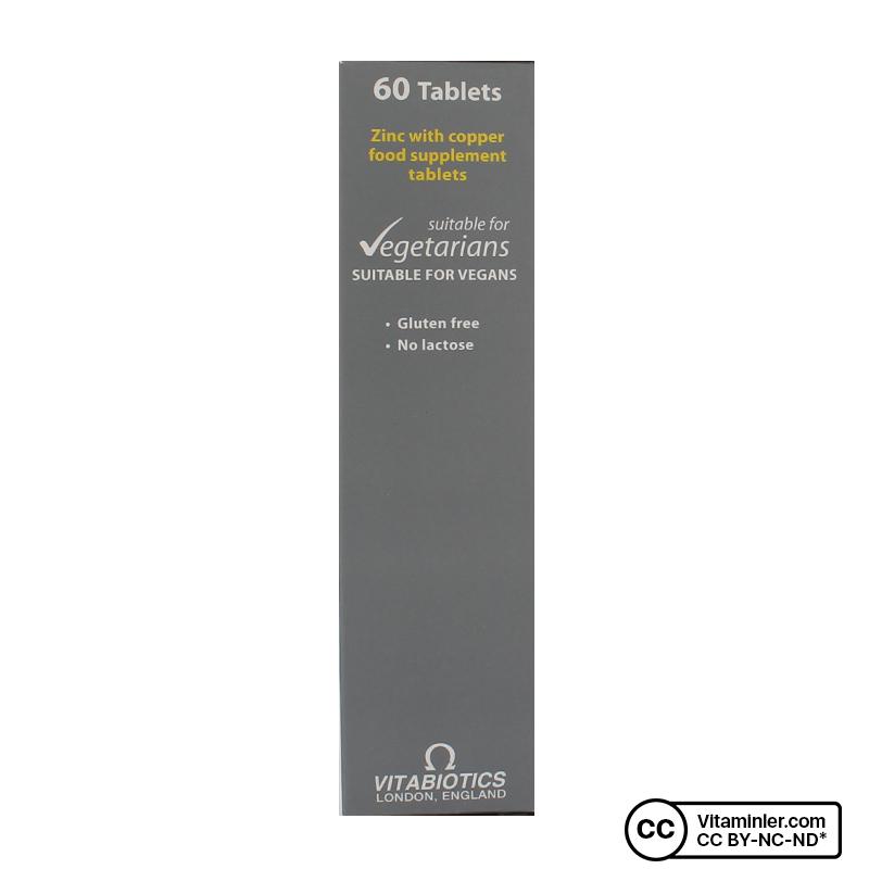 Vitabiotics Ultra Zinc 15 Mg 60 Tablet