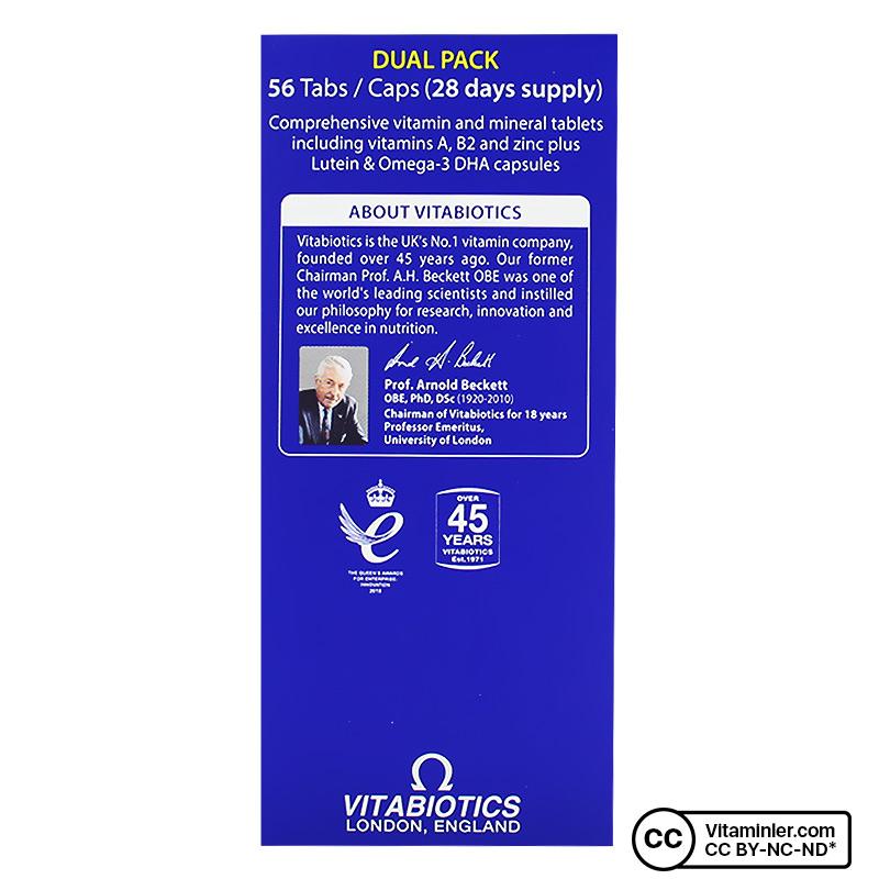 Vitabiotics Visionace Plus 56 Tablet