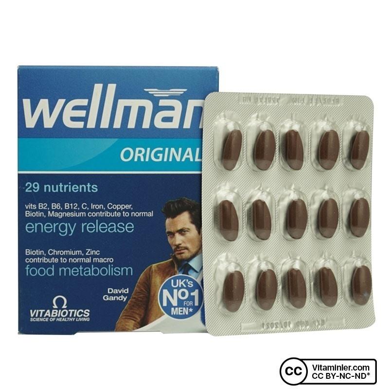 Vitabiotics Wellman Original 30 Tablet
