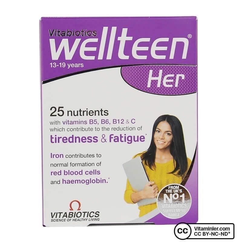 Vitabiotics Wellteen Her 30 Tablet