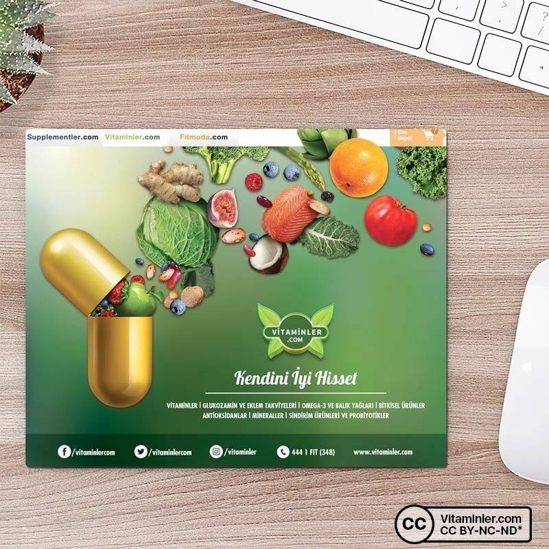 Vitaminler.Com Mouse Pad