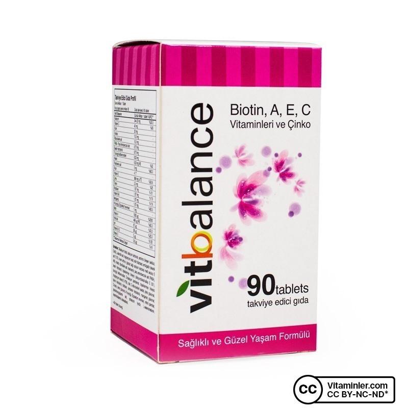 Vitbalance Vitamin ve Mineral 90 Tablet