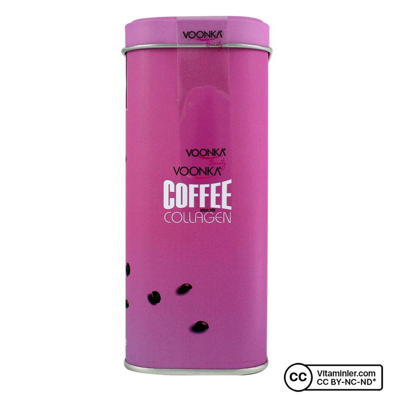 Voonka Coffee Collagen Cream 30 Saşe