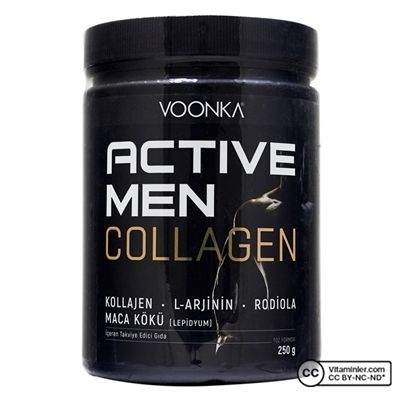 Voonka Collagen Active Men 250 Gr