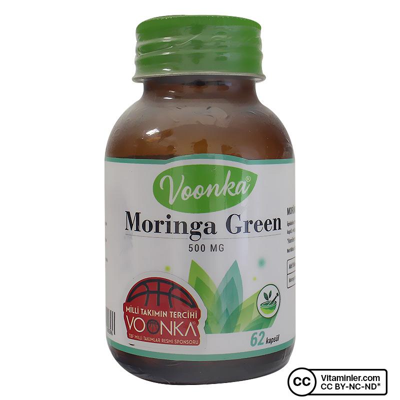 Voonka Moringa Green 500 Mg 62 Kapsül