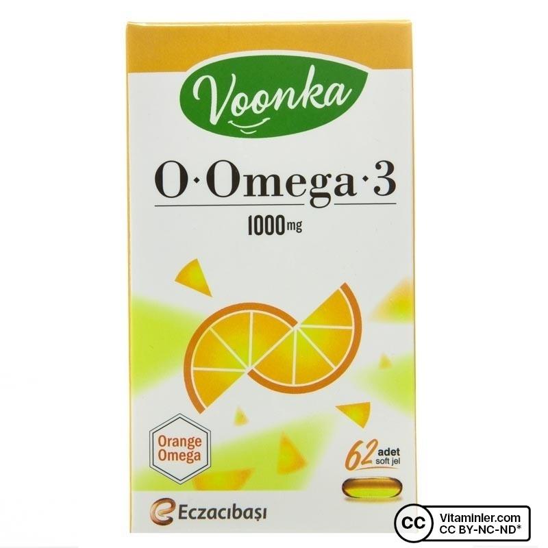 Voonka O-Omega 3 1000 Mg 62 Kapsül