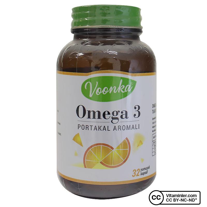 Voonka Omega 3 1000 Mg 32 Kapsül