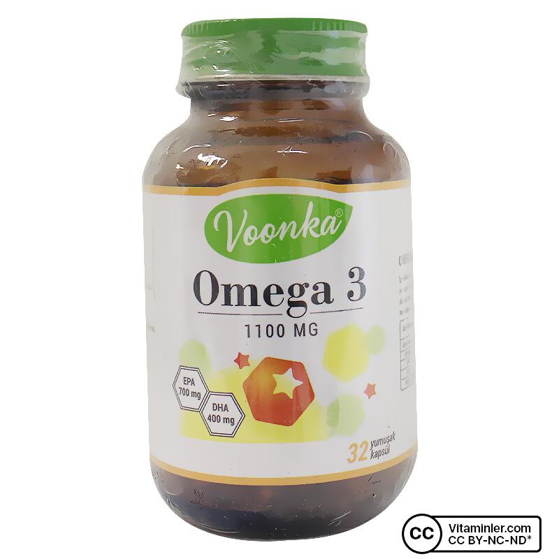 Voonka Omega 3 1100 Mg 32 Kapsül