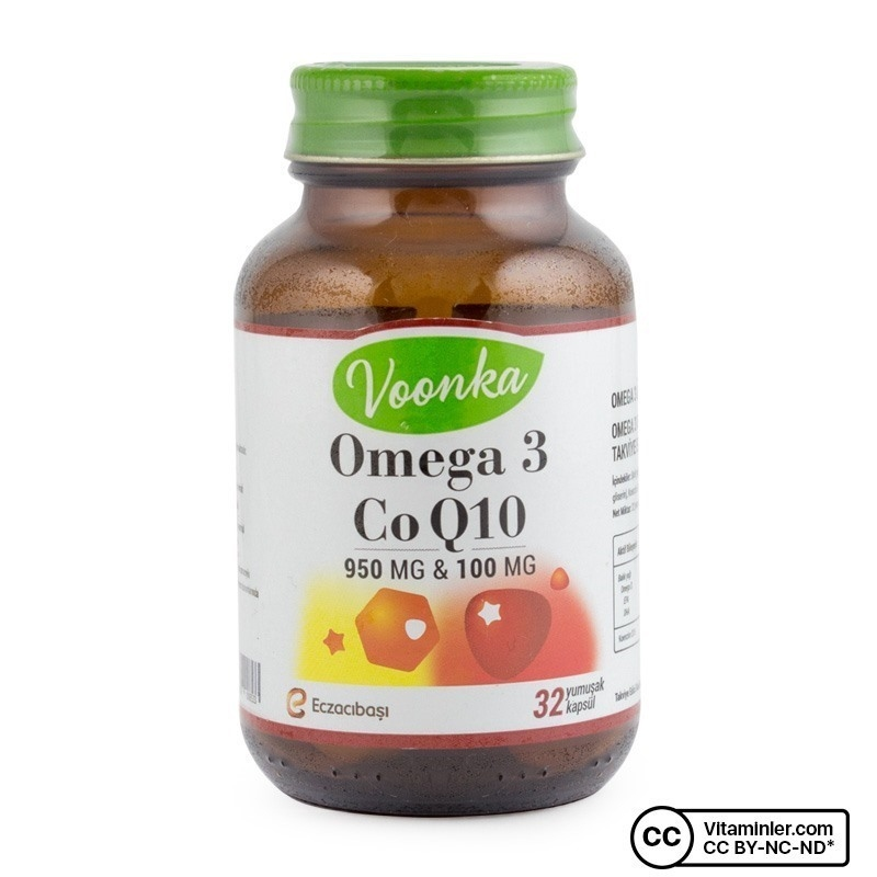 Voonka Omega 3 Co Q10 950 Mg 32 Kapsül