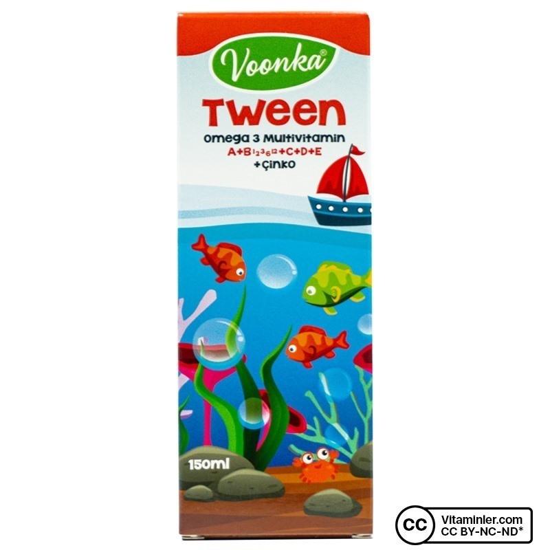 Voonka Tween Omega 3 Multivitamin 150 mL