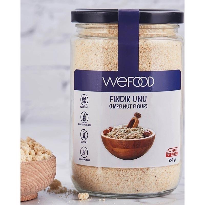 Wefood Fındık Unu 250 Gr