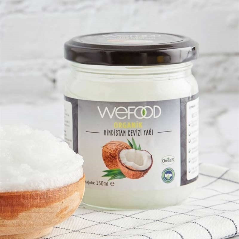 Wefood Organik Hindistan Cevizi Yağı 150 mL