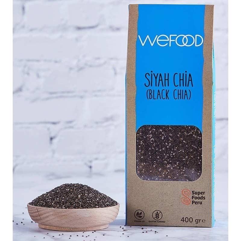 Wefood Siyah Chia 400 Gr