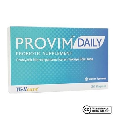 Wellcare Provim Daily Probiyotik 30 Kapsül