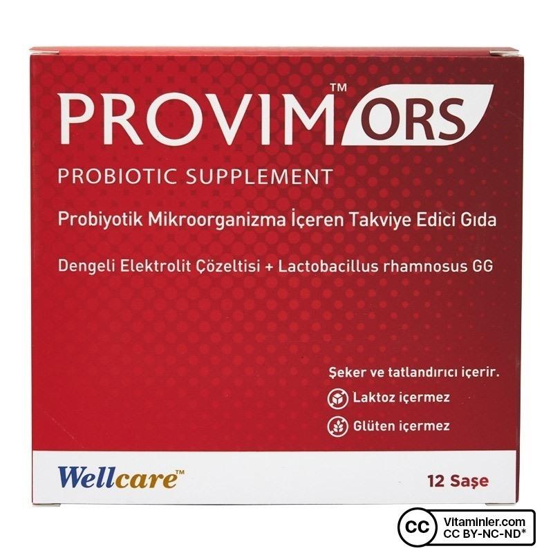 Wellcare Provim ORS Probiyotik 12 Saşe