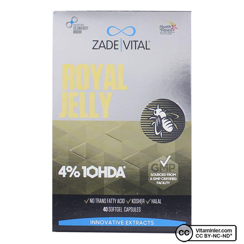 Zade Vital Arı Sütü 1000 Mg 40 Kapsül