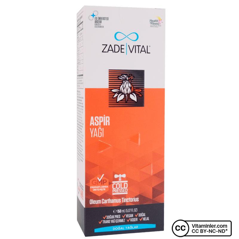 Zade Vital Aspir Yağı 150 mL