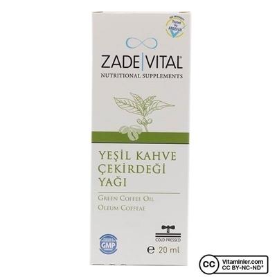 Zade Vital Yeşil Kahve Yağı 20 mL